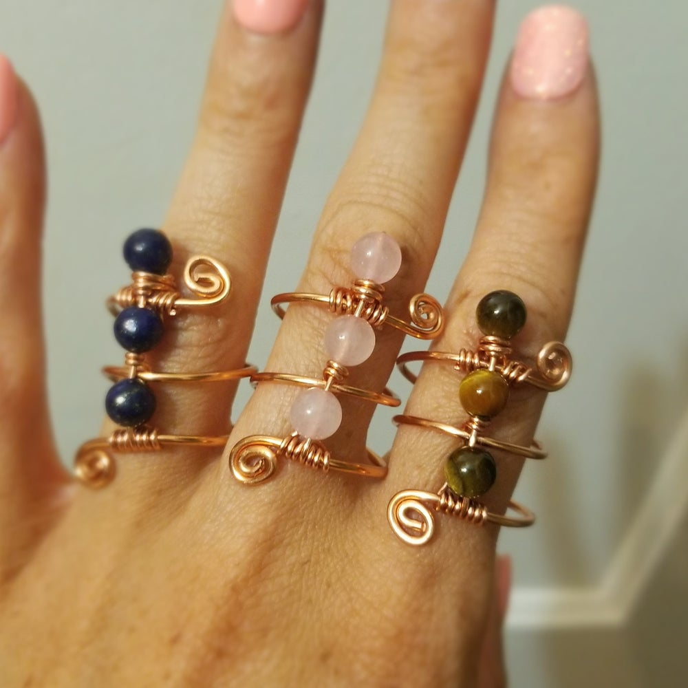 Image of Beaded rings