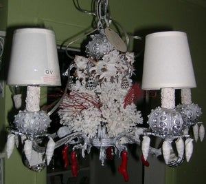 Image of Cool Silver Chandelier