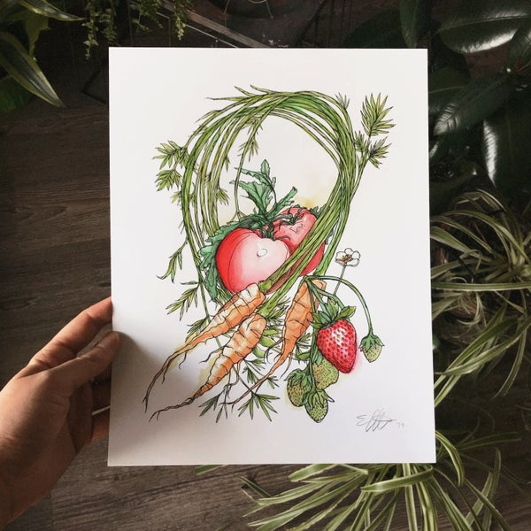 Image of Vegetables Print