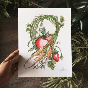 Image of Vegetables Print