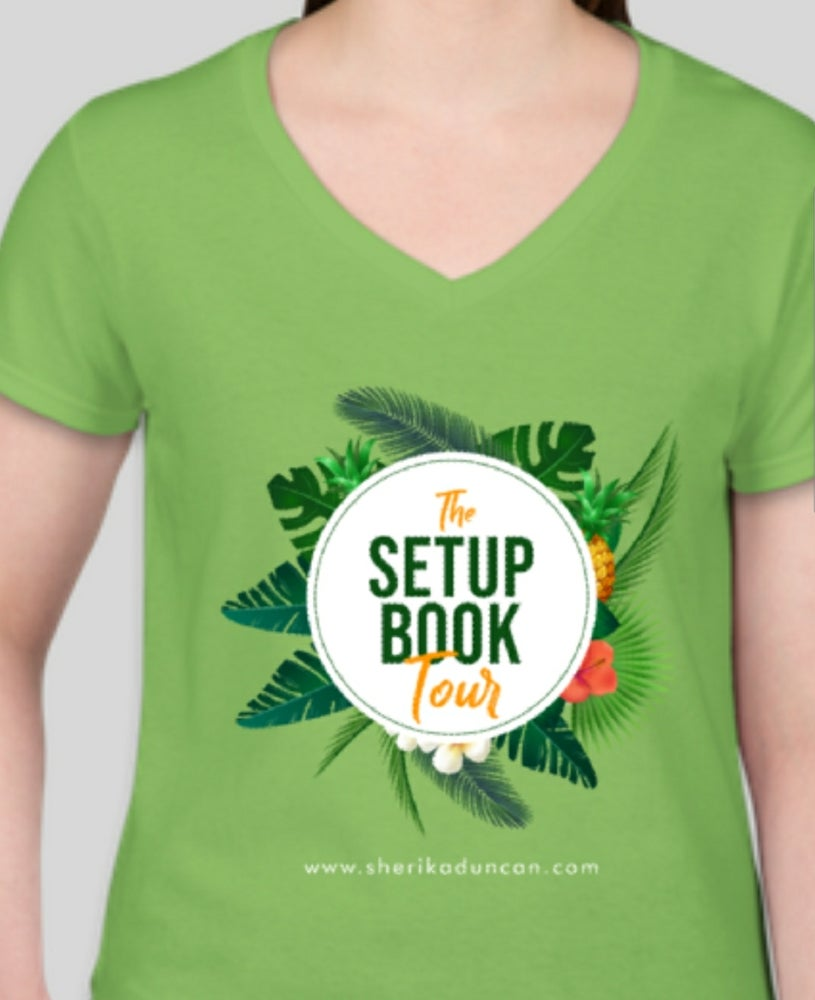 Image of Setup Book Tour T-shirt
