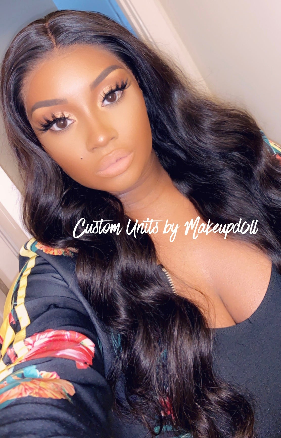 """Image of Brazilian Loose Wave 24"""" Lace Frontal Wig!"""