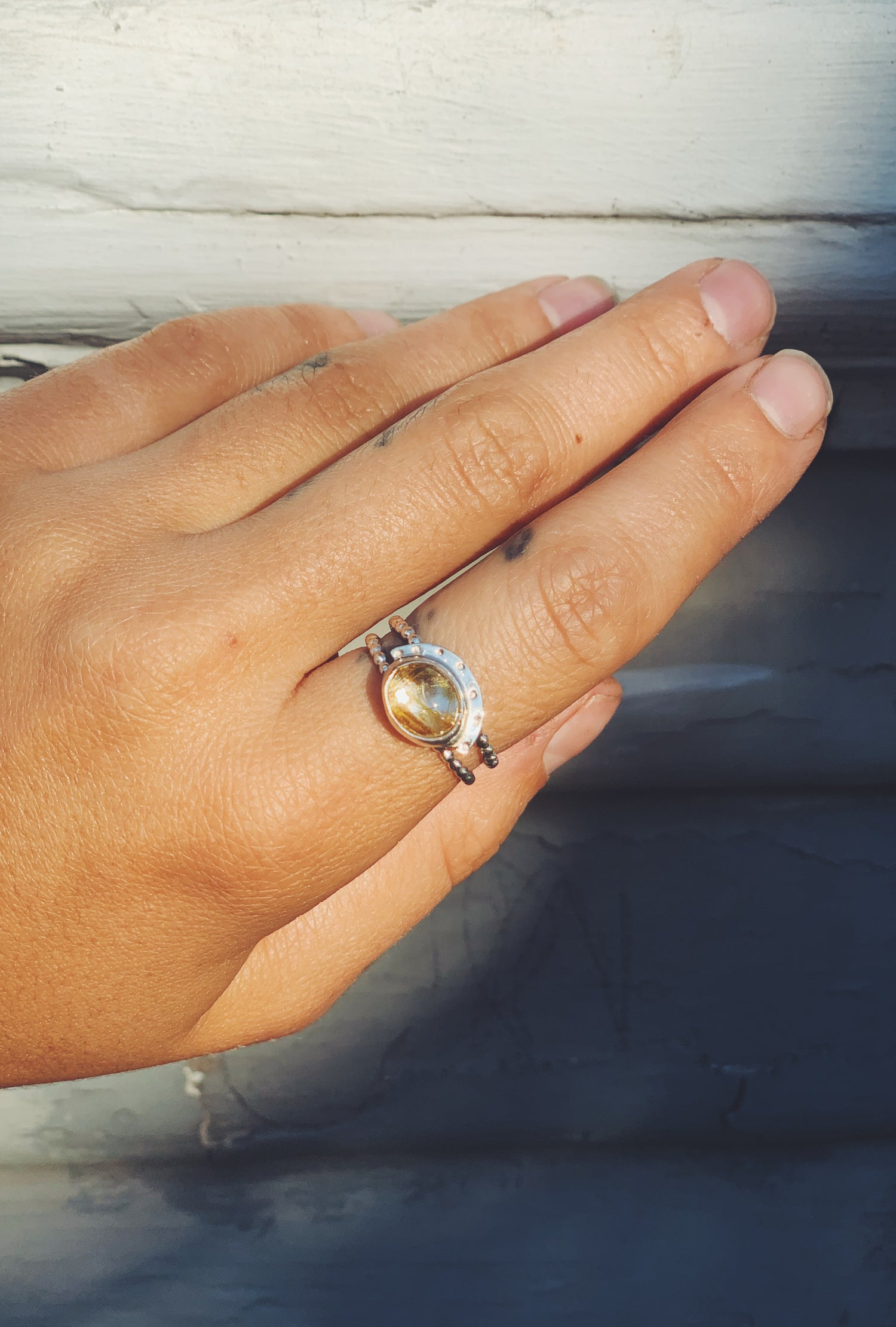 Image of Rutilated Quartz Ring