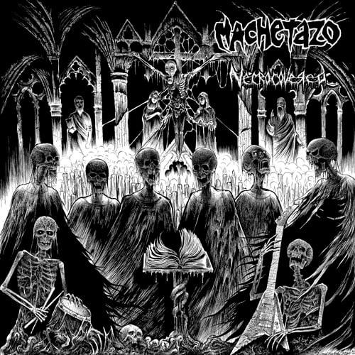 "Image of MACHETAZO ""Necrocovered"" MCD"