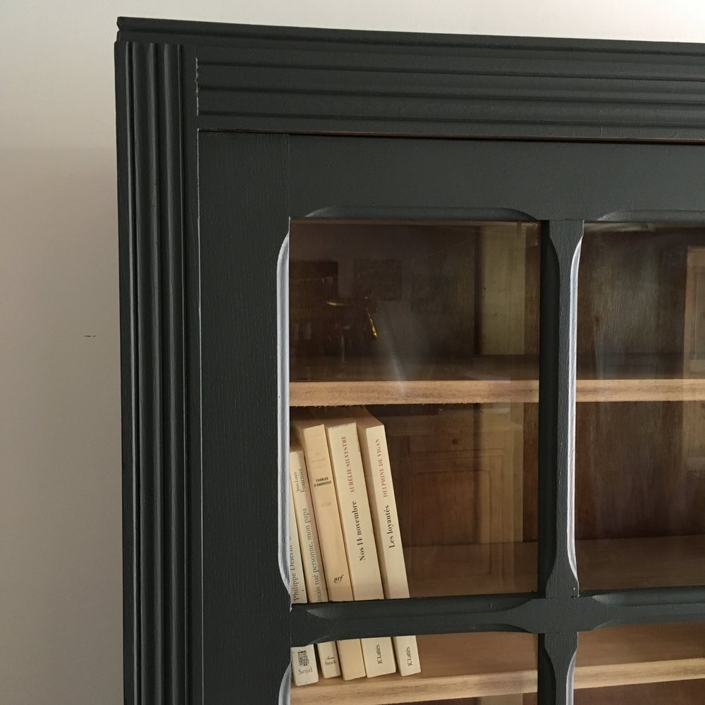 Image of Églantine, armoire / bibliothèque vitrée