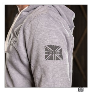 Image of Fear Naught Zipped Hooded Top