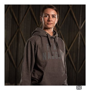 Image of Fear Naught Charcoal Hooded Top