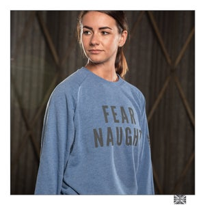 Image of Fear Naught Sweatshirt - Blue Marl