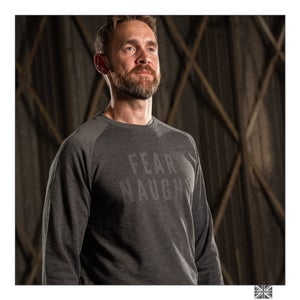Image of Fear Naught Sweatshirt - Grey Marl