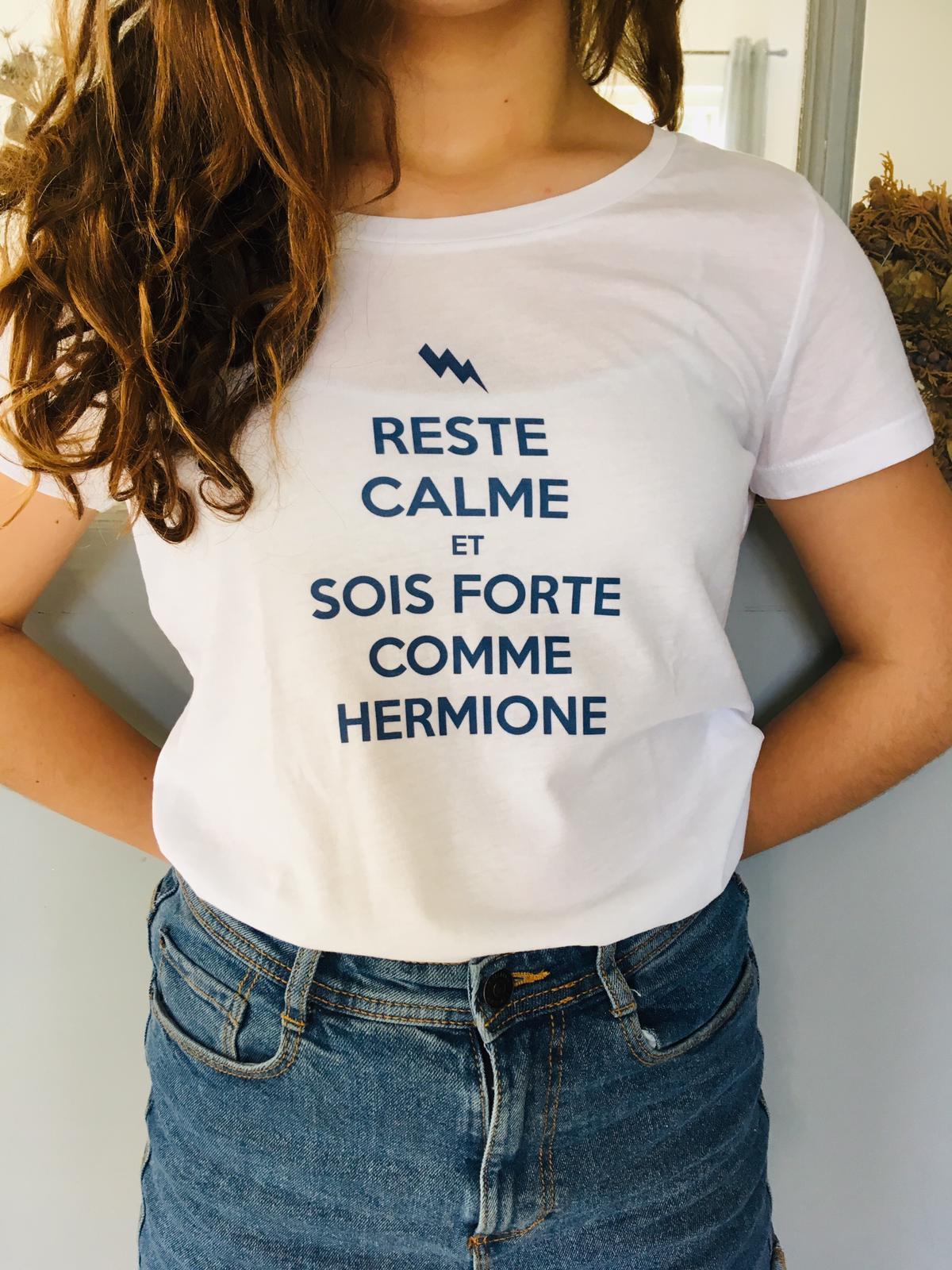 Image of T-SHIRT HERMIONE version FRANÇAISE - FEMME et ENFANT