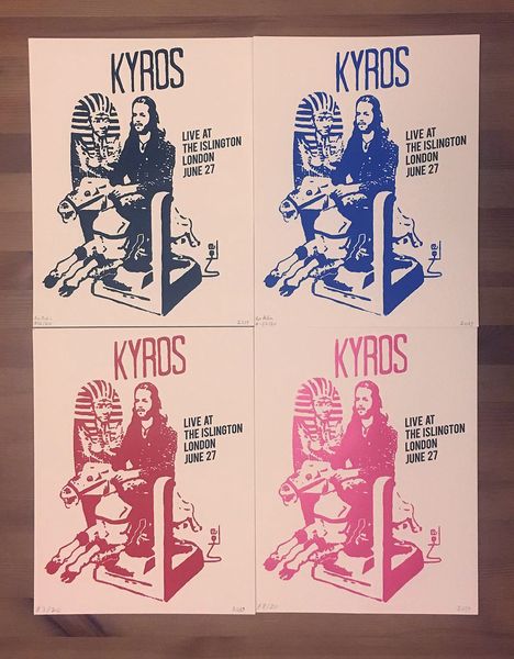 Image of LIMITED RUN - Hand Screen Printed Posters