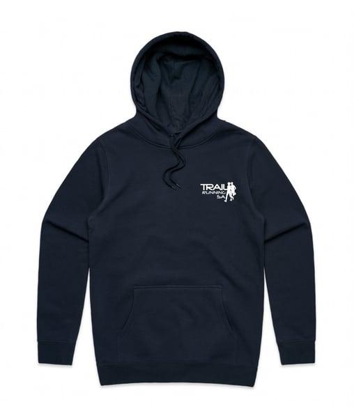 Image of Unisex Pullover Hoodie - Navy