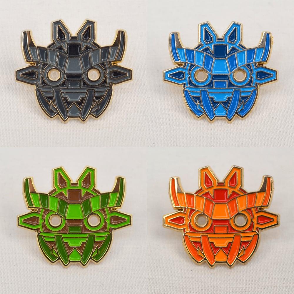 Image of Ancient Boo Mask Pin