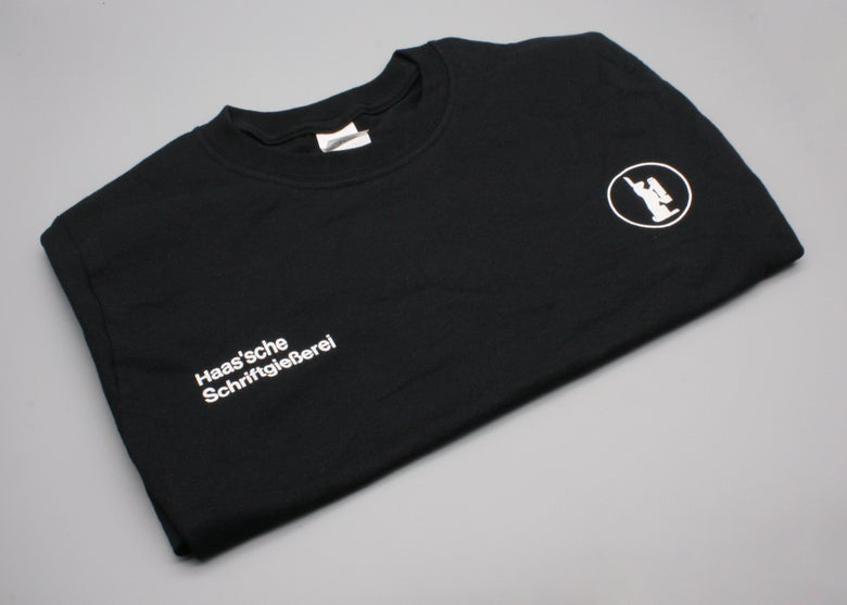 Image of Haas Type Foundry T-Shirt