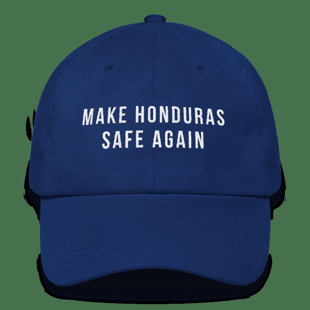 Image of Make Honduras Safe Again (dad hat)