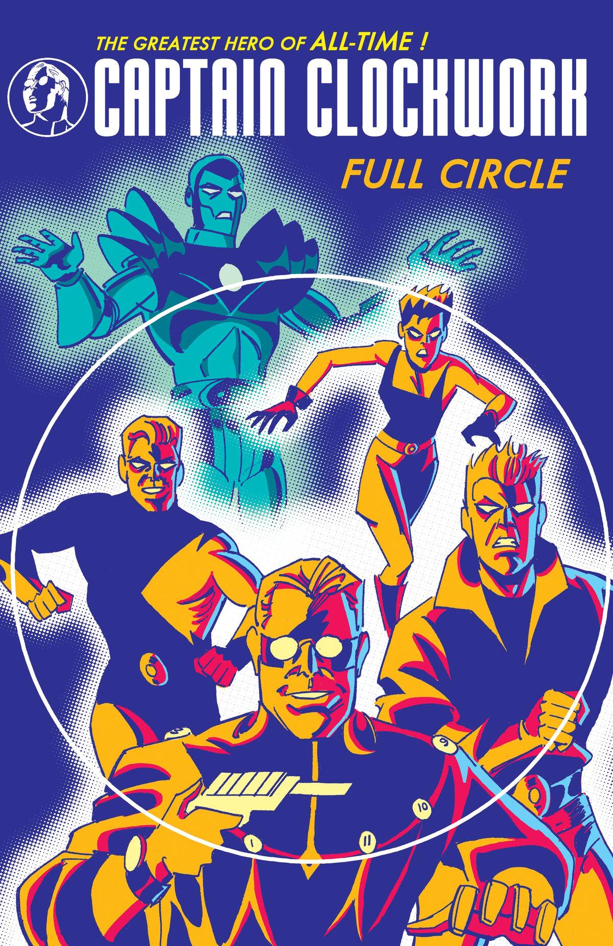 Image of Captain Clockwork: Full Circle