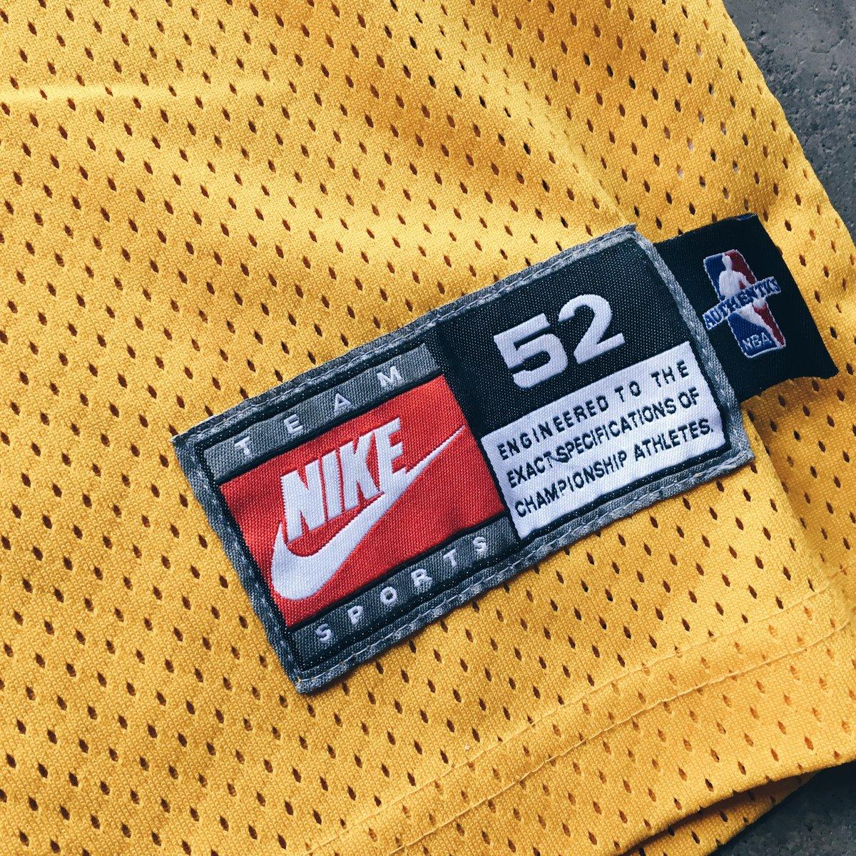 Image of Original 1999 Nike Eddie Jones Los Angeles Lakers Pro Cut Authentic.