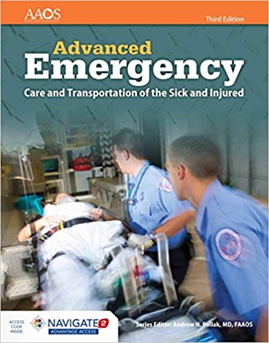 Image of Advanced Emergency Care and Transportation of the Sick and Injured 3rd Edition