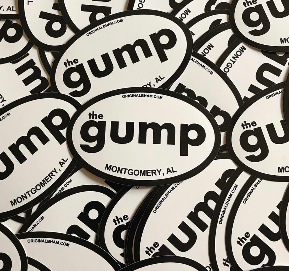 Image of The Gump Decal