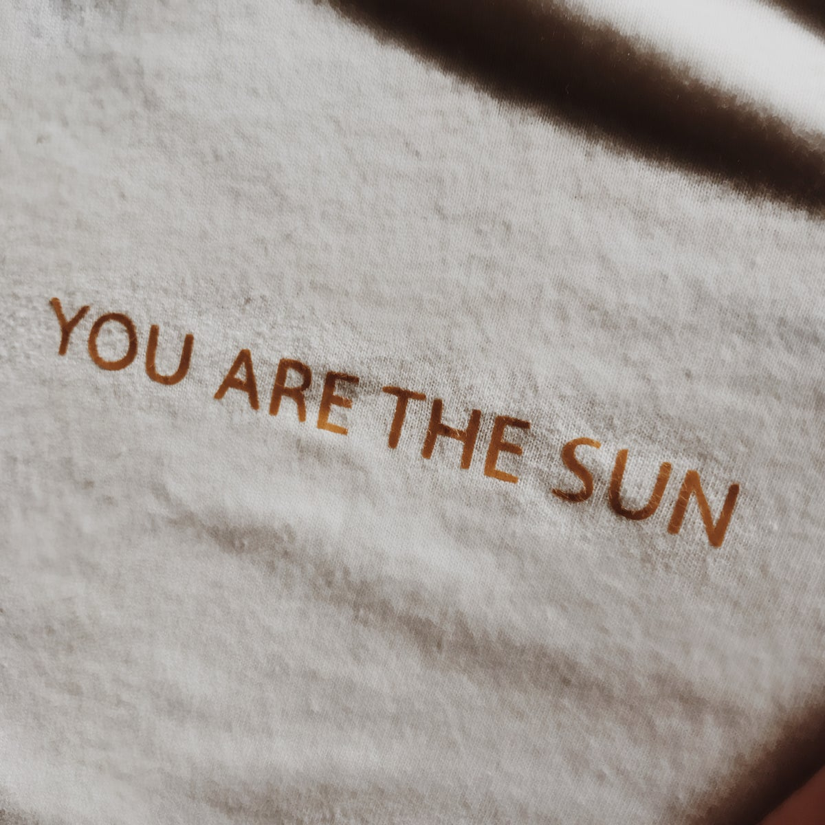 Image of Tee Shirt YOU ARE THE SUN ☀️
