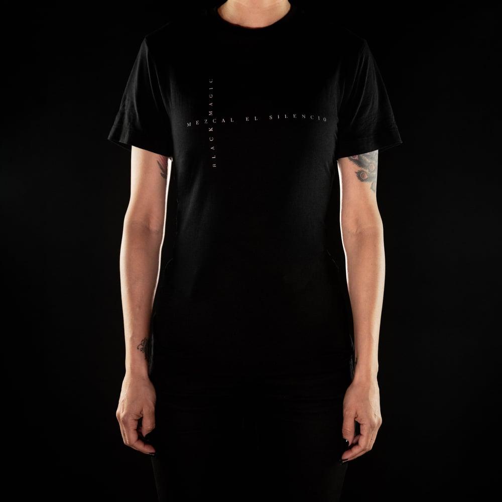 Image of Black Magic Cross Word T-Shirt