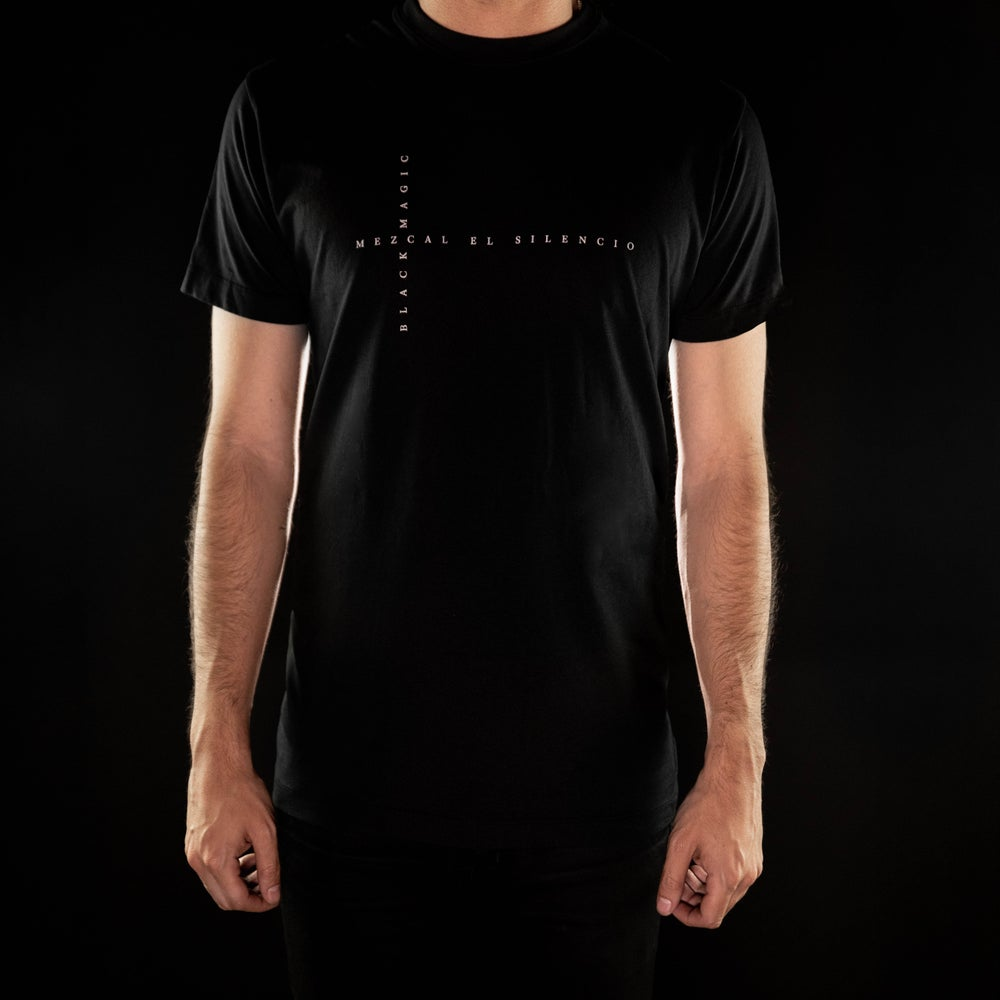 Image of Black Magic Cross Word T-Shirt