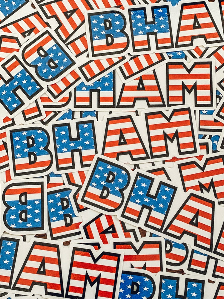 Image of BHAM USA Decal