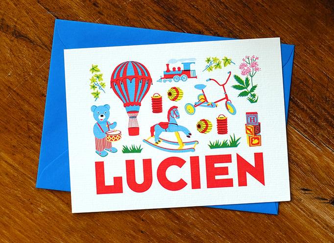 Image of Faire-part Naissance Lucien