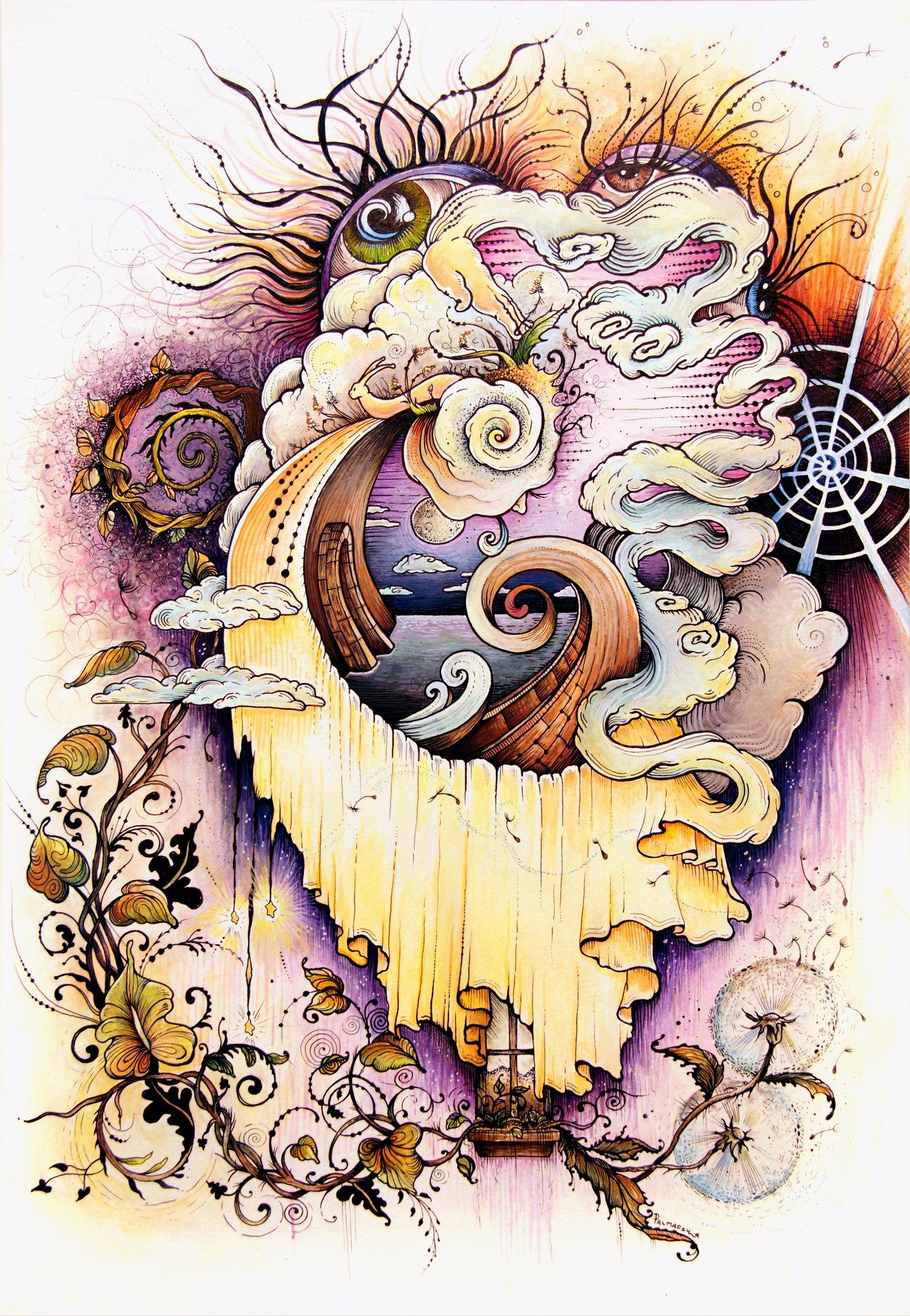 "Image of ""Siren's Mirage"" Fine Art Print"