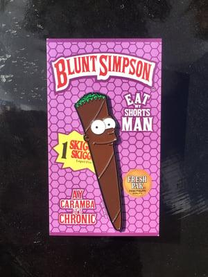 Image of OG Blunt Simpson Pin