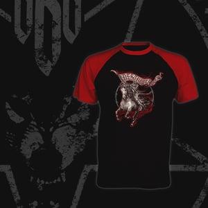 Image of WILDFIRE baseball t-shirt