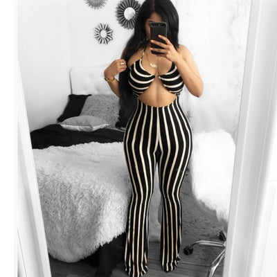Image of Stripe jumpsuit