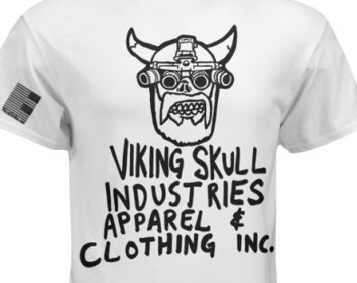 Image of VIKING SKULL INDUSTRIES APPAREL & CLOTHING INC. T-Shirt
