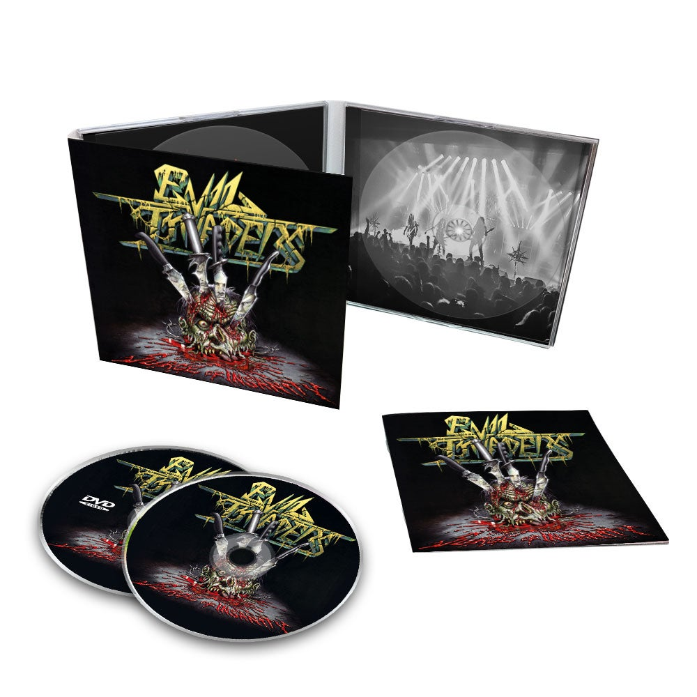 Image of Surge Of Insanity - Live Album CD + DVD / Digipak