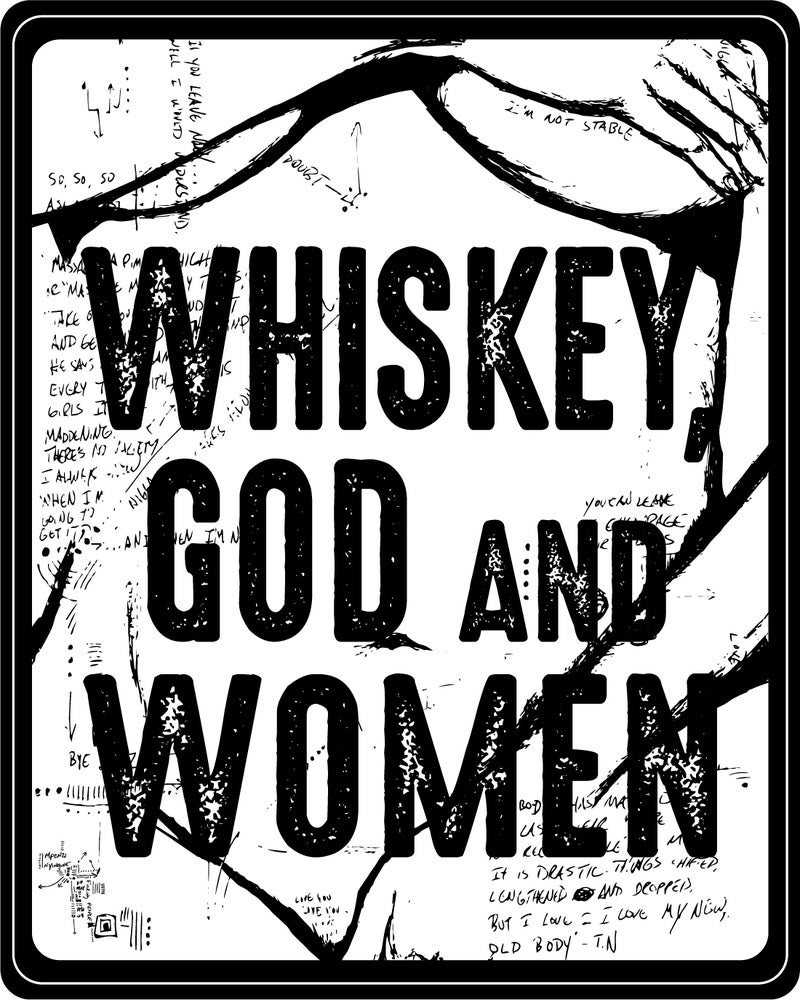 Image of Whiskey, God and Women