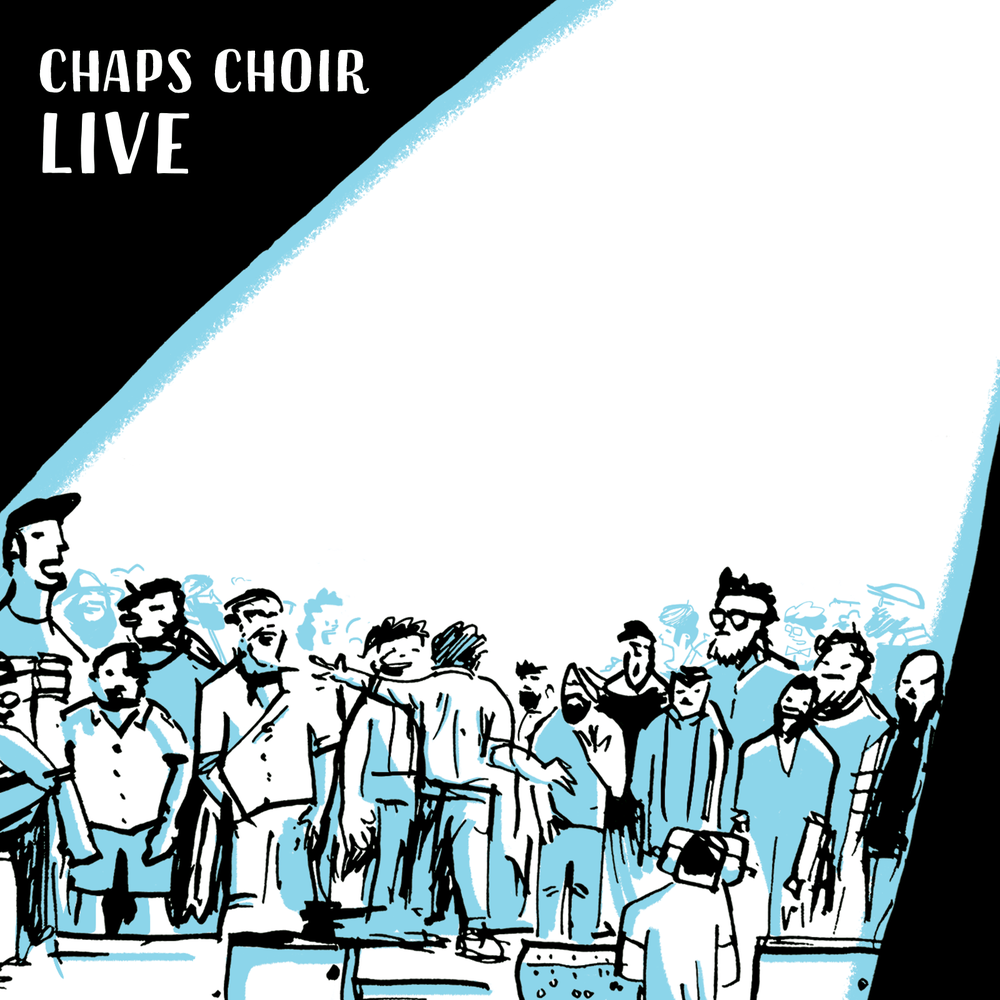 Image of Chaps Choir Live - CD