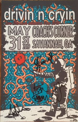 Image of 2019 spring Tour Posters autographed