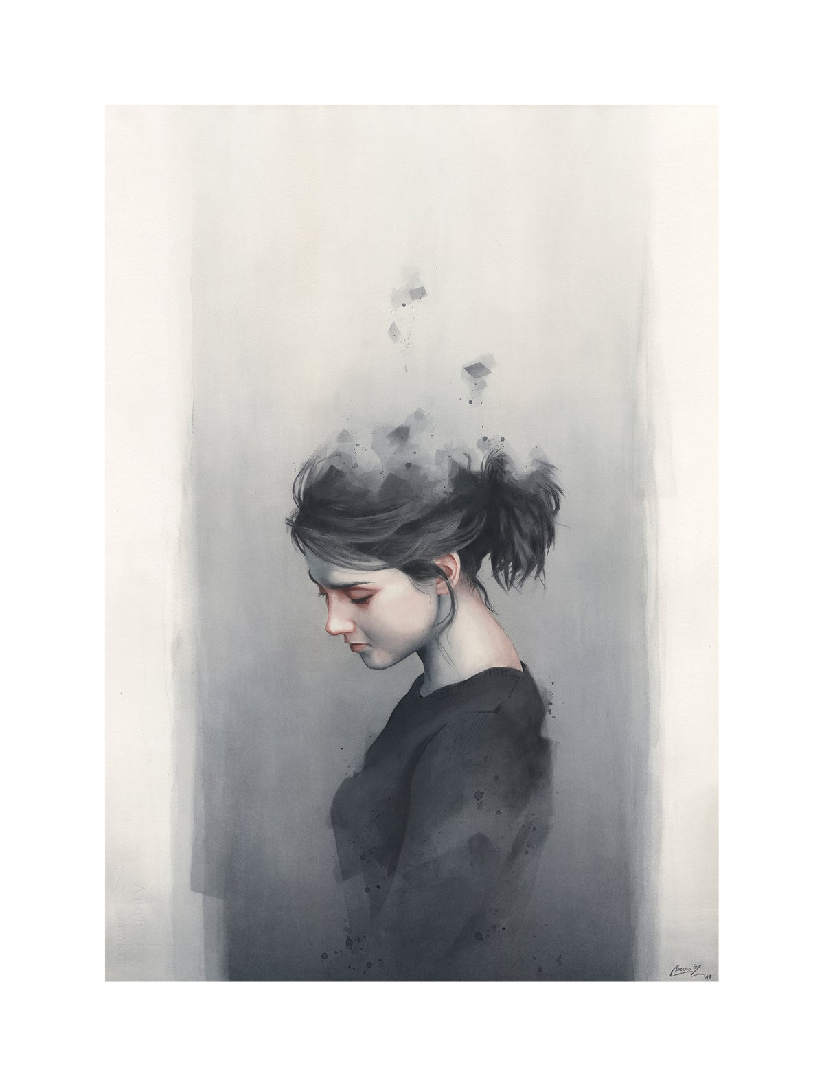Image of Wane - Limited Edition Prints - SMALL