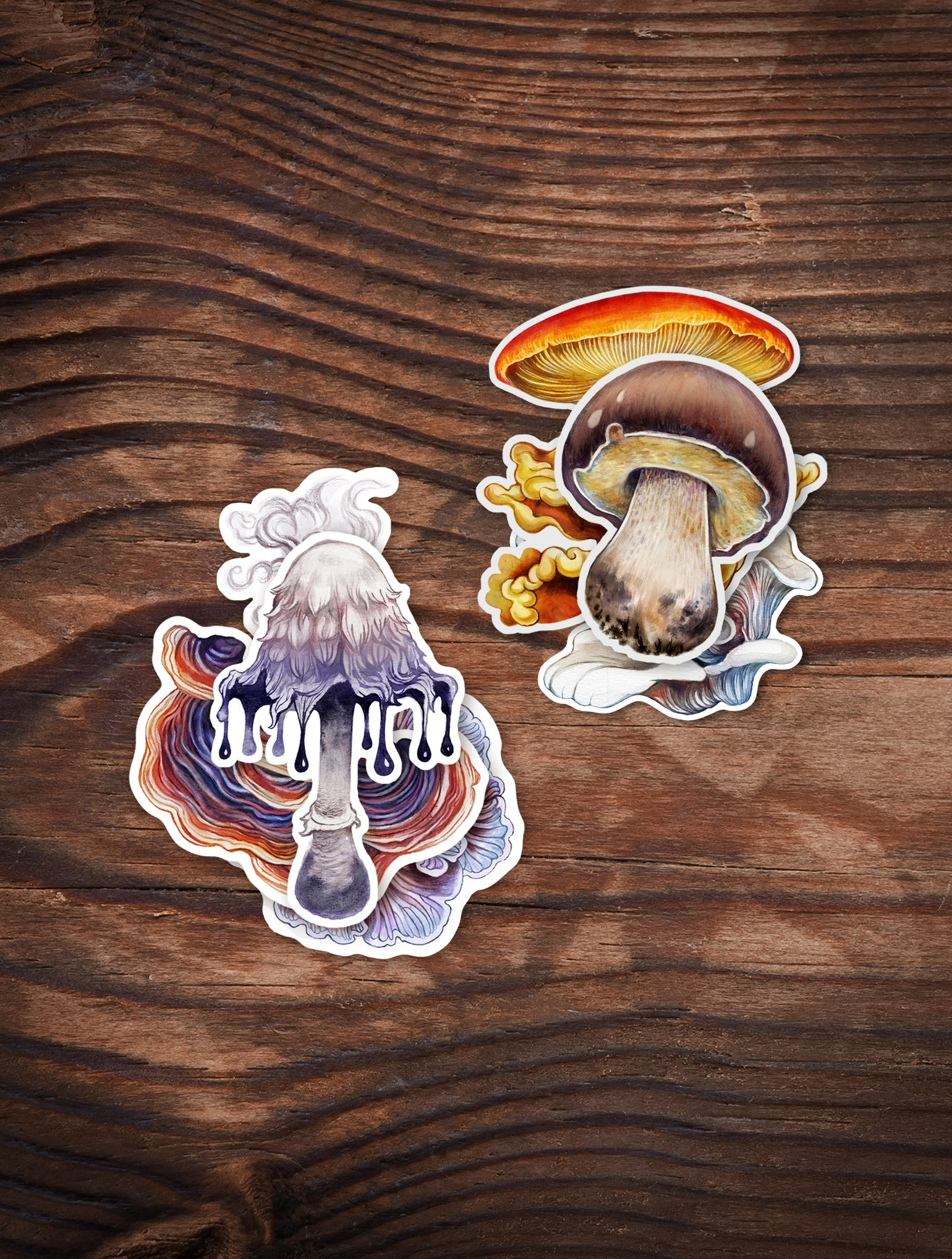 Image of Double Shroom Sticker Pack