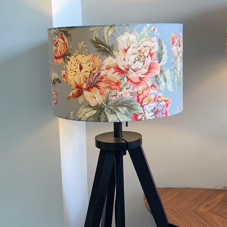Image of Fleuretta Slate Lampshade