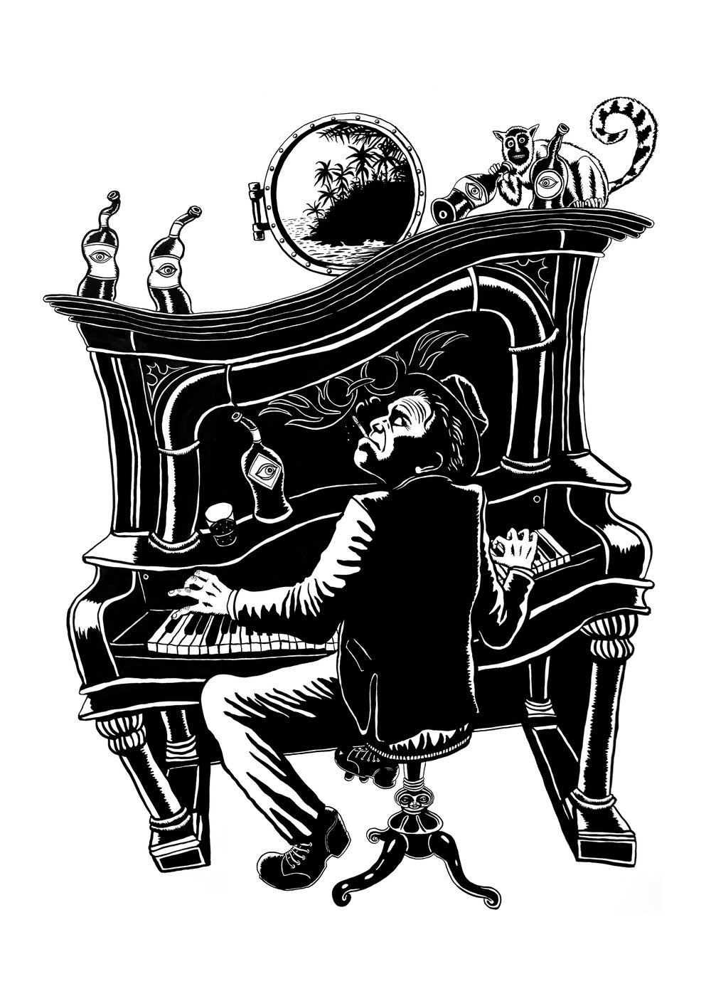 Image of The Piano Has Been Drinking