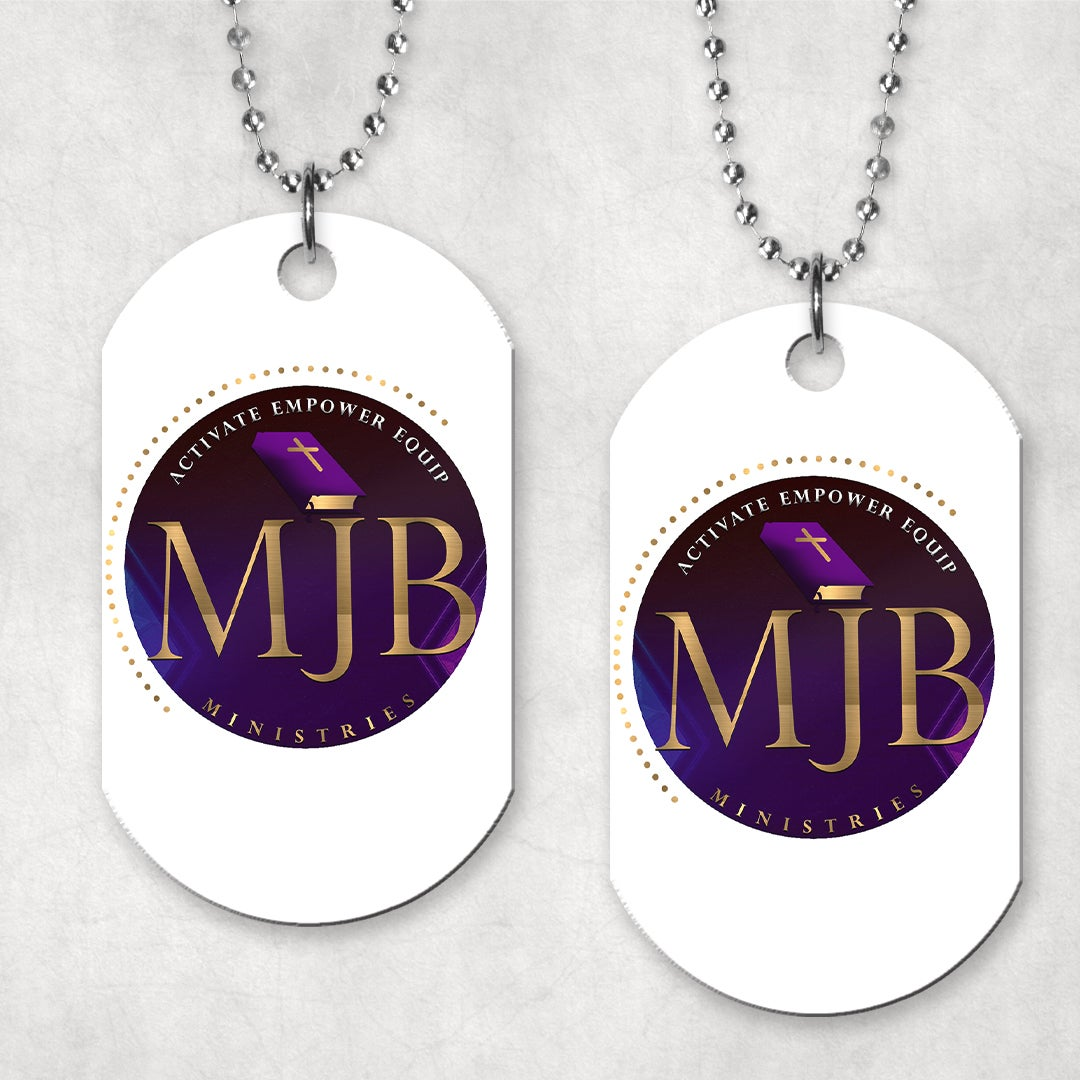 Image of MJB MINISTRIES TAG NECKLACE