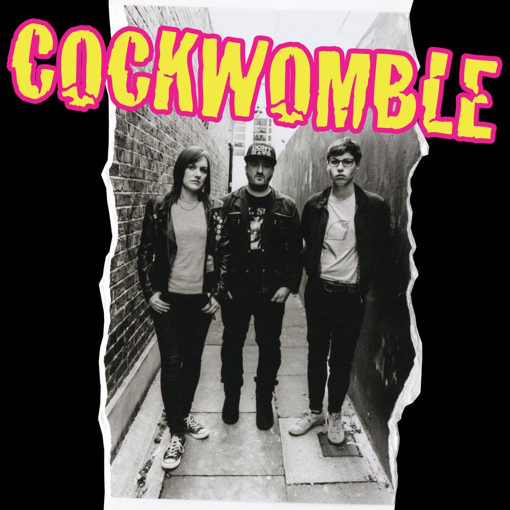 Image of 'Cockwomble' debut album - CD version + orange logo album cover T-shirt