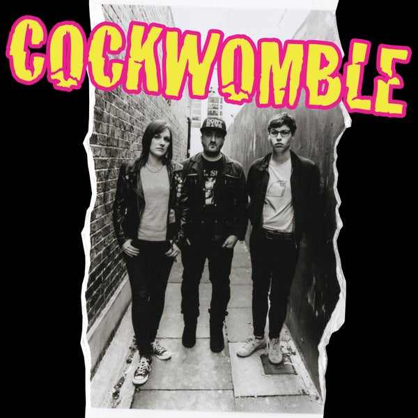Image of 'Cockwomble' debut album - CD version + orange logo album cover T-shirt