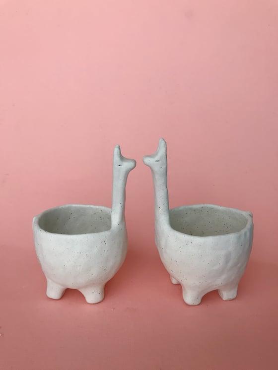 Image of Small llama pot