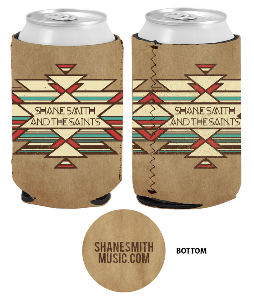 Image of Native Lines Natural Koozie