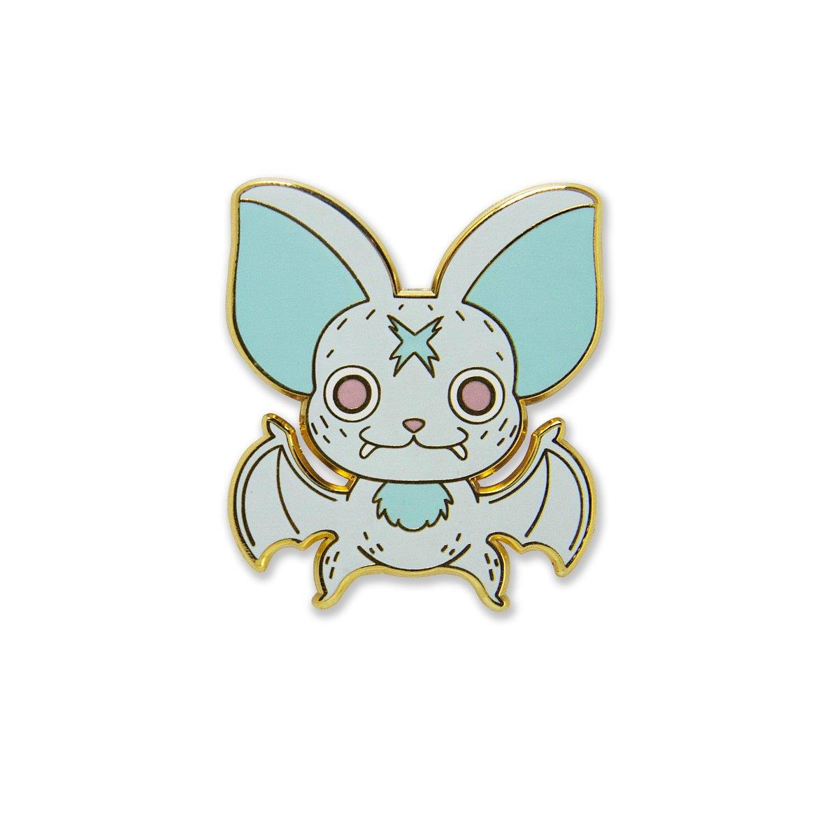 Image of Baby Bat Enamel Pin