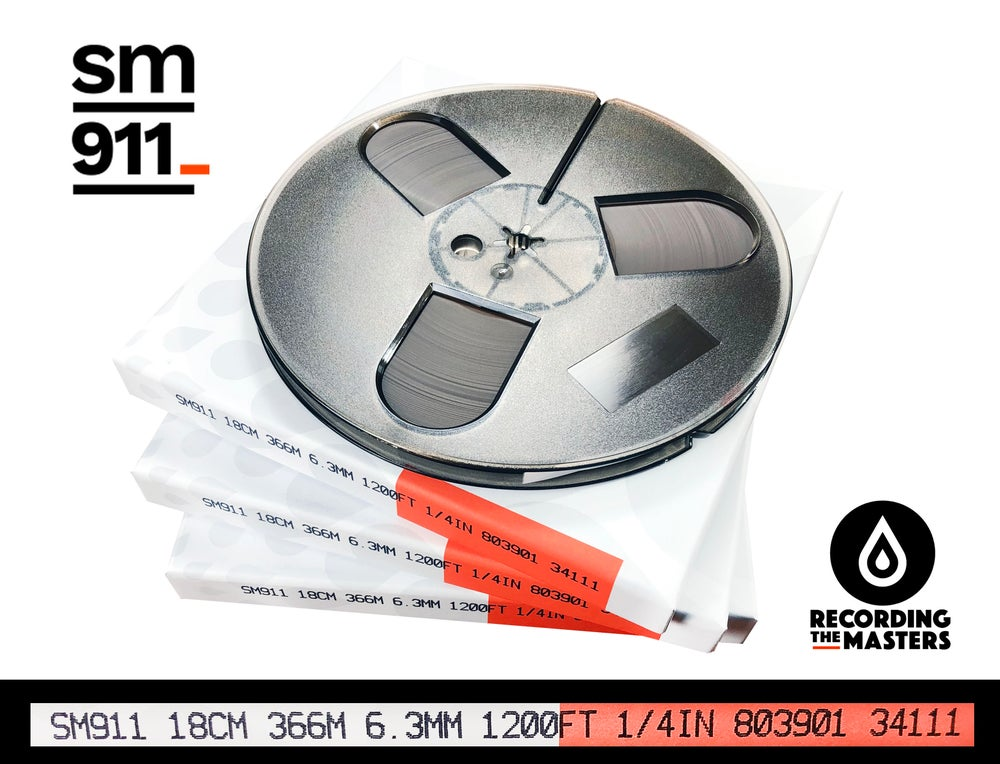 "Image of 3 Pack SM911 1/4"" X1200' 7"" Plastic Reel Hinged Box"