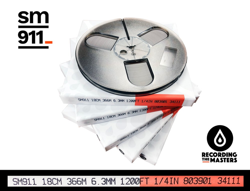 "Image of 5 Pack SM911 1/4"" X1200' 7"" Plastic Reel Hinged Box"