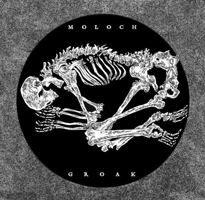 "Image of Moloch / Groak - split 7"" (DC39)"